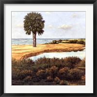 Low Country Beach I Framed Print