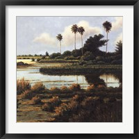 Low Country Beach II Framed Print