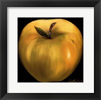 Yellow Apple Framed Print