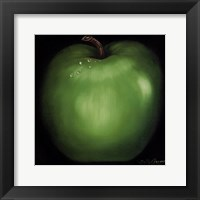 Green Apple Framed Print