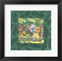 Safari-Zebra Framed Print