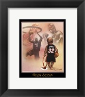 Framed Shaq Attack