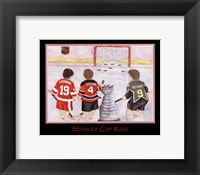 Framed Stanley Cup Kids