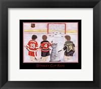 Stanley Cup Kids Framed Print