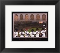 Framed Little Buckin' Broncos