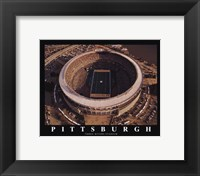 Framed Pittsburgh - Three Rivers Stadium