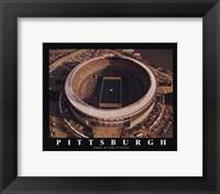Framed Pittsburgh - Three Rivers Stadium