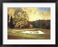 Framed After the Rain at Merion