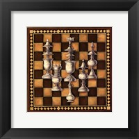 Framed Chess Set I