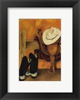 Framed Modern Cowboy