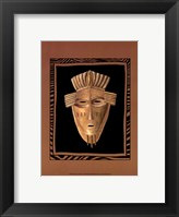 Framed African Mask I