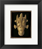Framed African Mask II