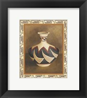 Framed Southwest Pottery II