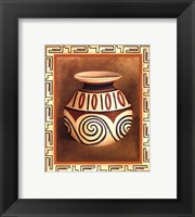 Framed Southwest Pottery IV