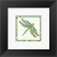 Framed Luminous Dragonfly I