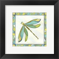 Framed Luminous Dragonfly II