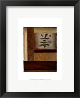 Framed Asian Collage I