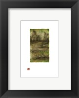 Framed Water Garden I