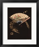 Framed Oriental Fan II