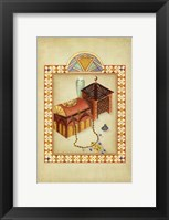 Framed Moroccan Treasures II