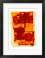 Framed Monoprint I