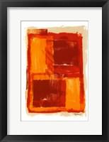Framed Monoprint III