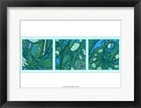 Framed Aqua Fission II