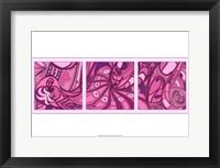 Framed Pink Fission II