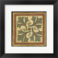 Arts and Crafts Leaves II (HI) Framed Print