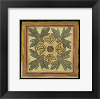 Arts and Crafts Leaves IV (HI) Framed Print