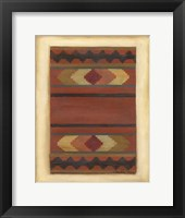 Framed Rio Grande Weaving (H) II