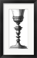 Framed Black & White Goblet I (SC)