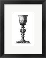 Framed Black & White Goblet II (SC)