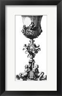 Framed Black & White Goblet III (SC)