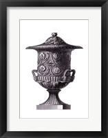 Black & White Urn I (SC) Framed Print
