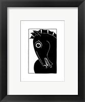 Framed Chevaux d' Homme II