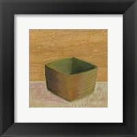 Framed Rustic Bowl I
