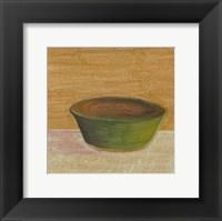 Framed Rustic Bowl II