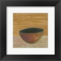 Framed Rustic Bowl III