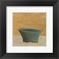 Framed Rustic Bowl IV