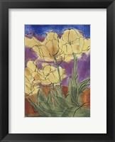 Framed Floral Fantasy III