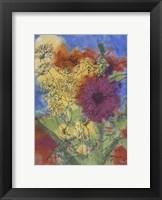 Framed Floral Fantasy IV