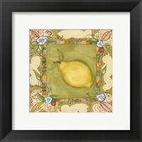 Framed French Country Lemon