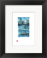 Framed Water Garden II
