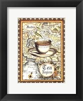 Exotic Tea (D) I Framed Print