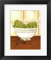 Tuscan Harvest I Framed Print