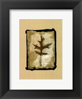 Framed Kyoto Leaves I