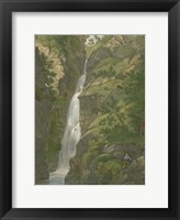 Framed Tranquil Cascade II
