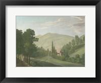 Framed Tranquil Cascade III