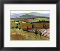 Framed Tuscany Afternoon II